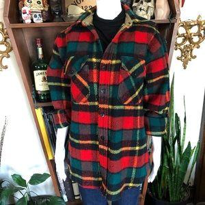 Vintage King's Road Shop Flannel Jacket